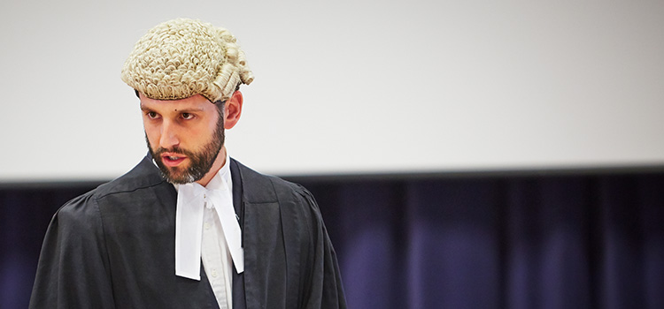Helping young barristers